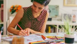 Are adult coloring books a form of art therapy?