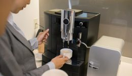 Office coffee machines brewing more than coffee grounds