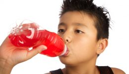 Are sports drinks safe for children?