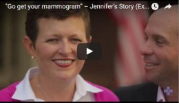 """If you haven't had your mammogram, go get your mammogram"""