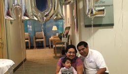 Cancer survivor shares year-long journey