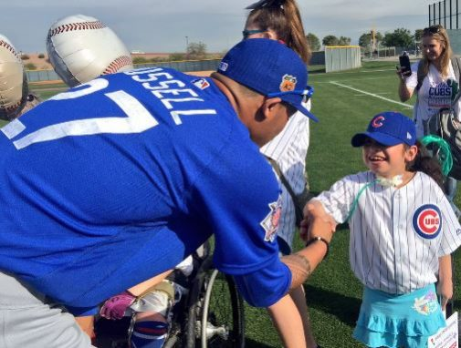 Chicago Cubs welcome patients to Spring Training