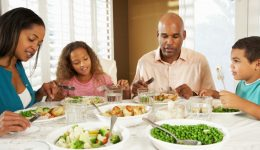 Families who do this at dinner are less likely to be obese