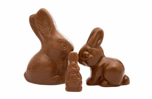 How do you eat a chocolate bunny?