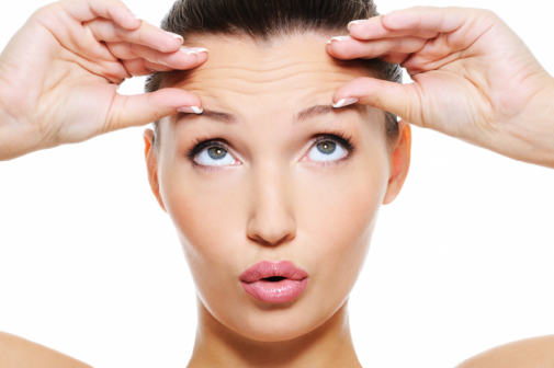 An interesting way to keep facial wrinkles at bay?
