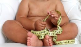 Do fat babies become fat kids?