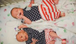 Featured Video: NICU babies celebrate the Fourth of July