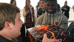 One year after brain tumor diagnosis, 15-year-old, family get Bears surprise