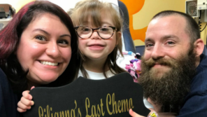 Featured Video: Liliana's last chemo