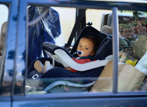 Practice proper car safety, no matter the heat index