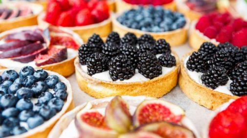 Featured Recipe: No-bake fruit tarts