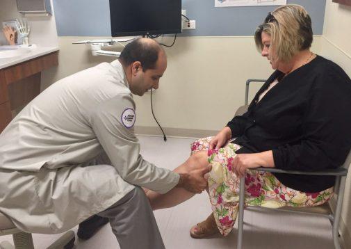 Nurse becomes the patient