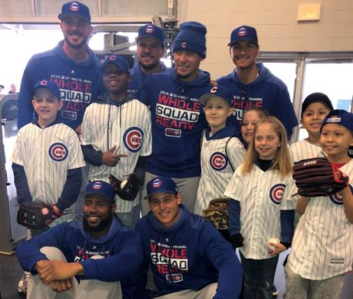 Chicago Cubs welcome young patients to Spring Training