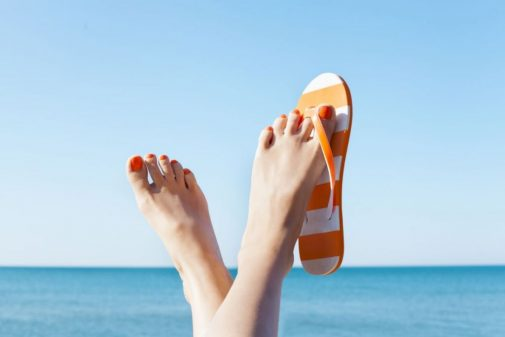 Do flip flops hurt your feet?